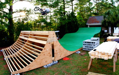 Backyard Bmx Ramps colony bmx guettler's new backyard ramp. - colony bmx