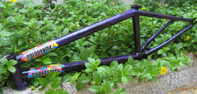 Sweet Tooth frame in Purple Storm