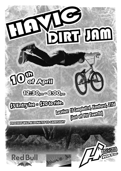 havic dirt jam 2010 med 150mm