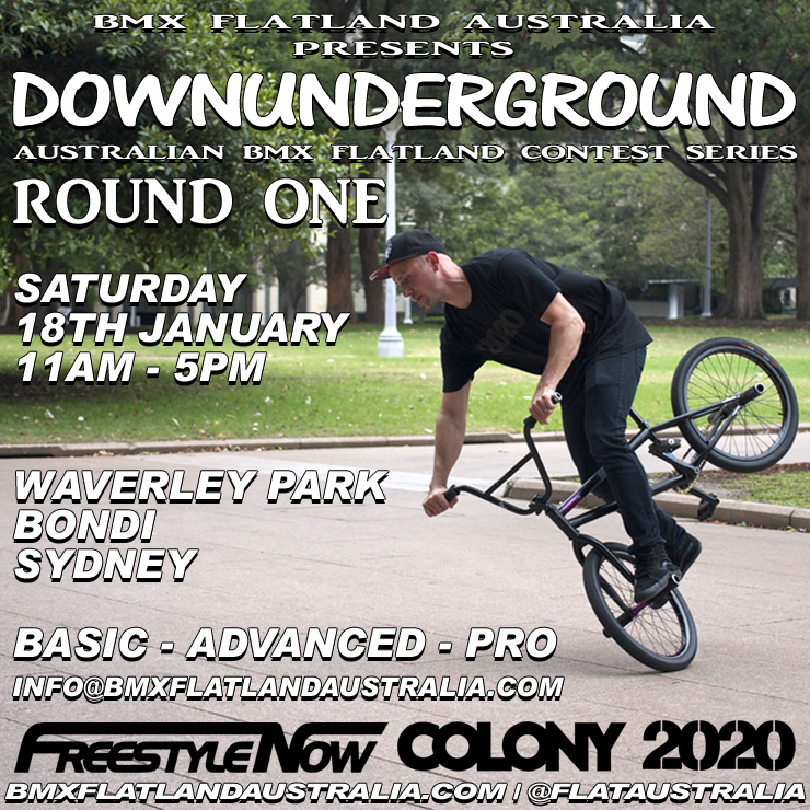 downunderground round one sydney january 2014