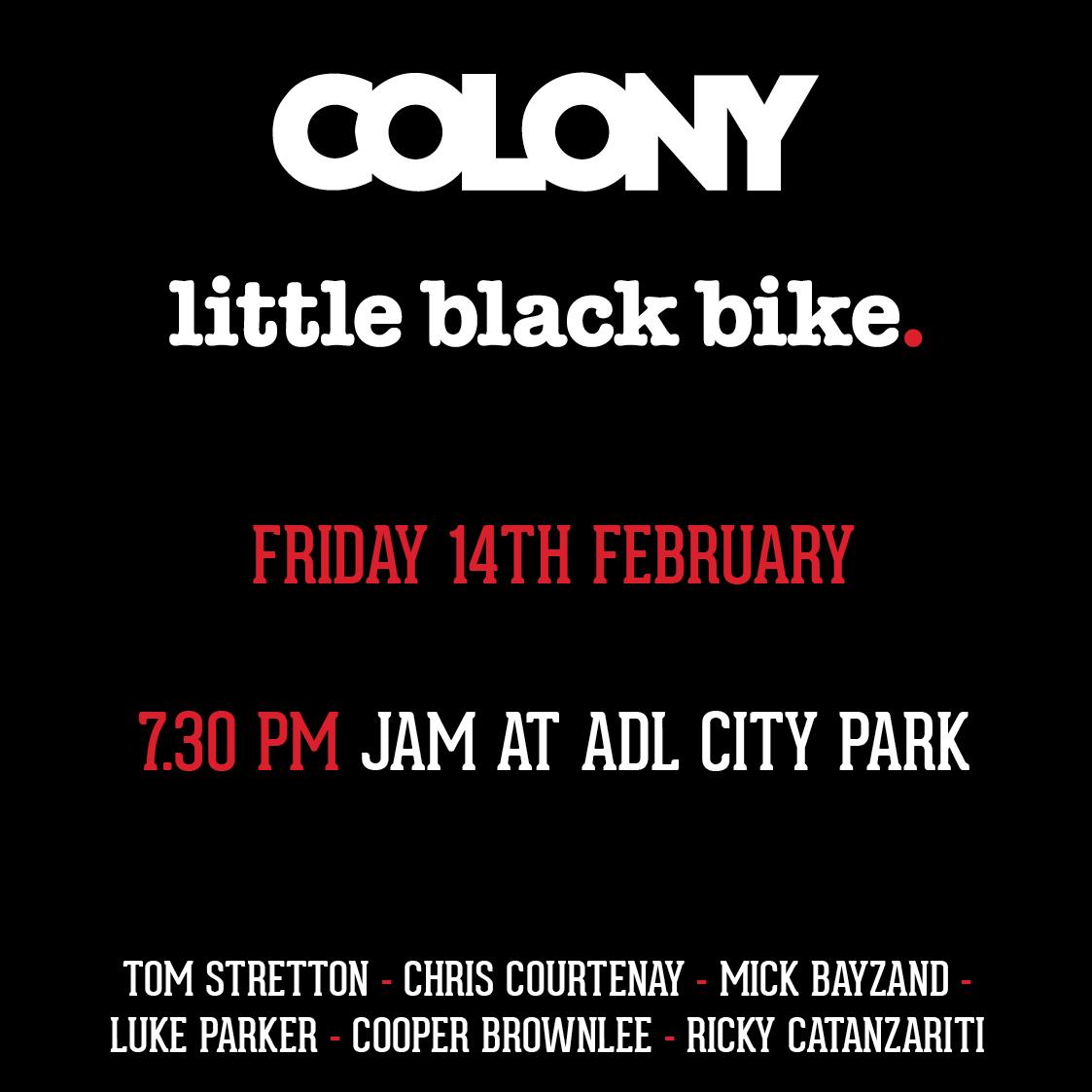 colonyXlbb flyer
