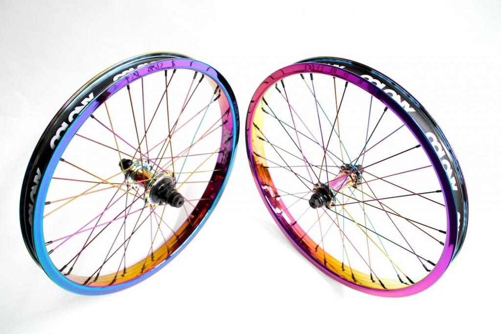 Full Rainbow Wheel Set 4