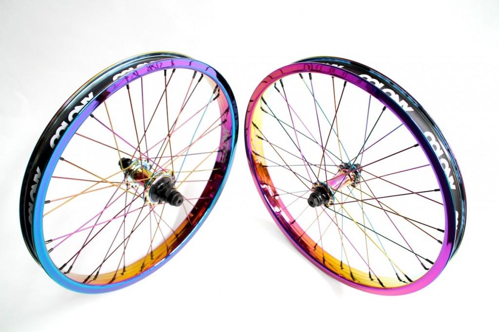 Full Rainbow Wheel Set 4