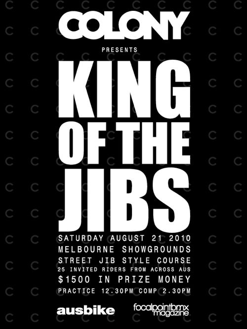 KING OF THE JIBS flyer-1