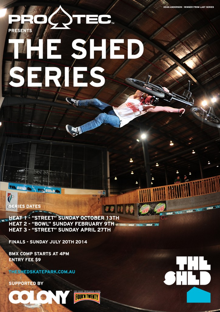 SHED COMP BMX 2013 Poster